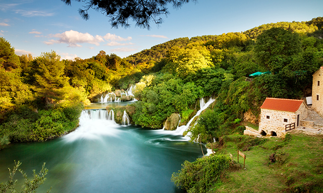 Scenic Krka National Park