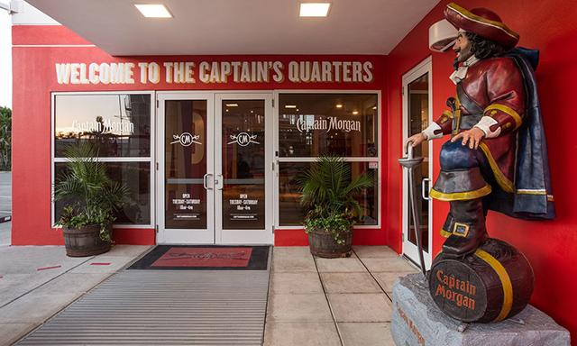 Captain Morgan Rum Adventure