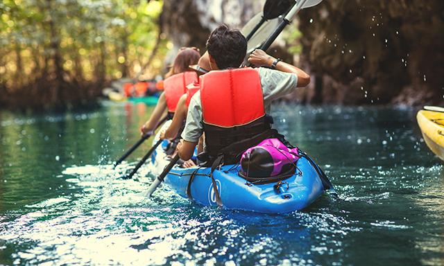 Kayak Adventure at Historical Christopher Columbus Landing Site