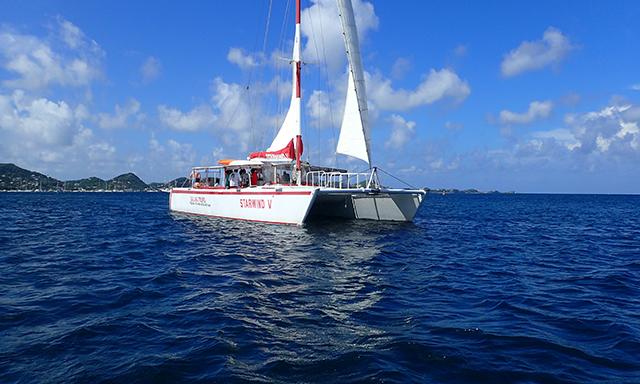Catamaran Sail and Snorkel