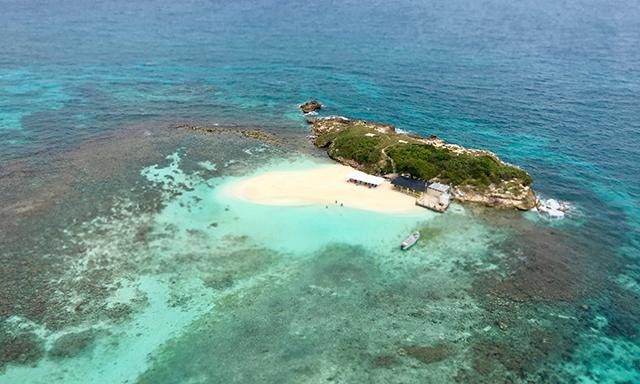 Antiguan Crusoe Island Escape