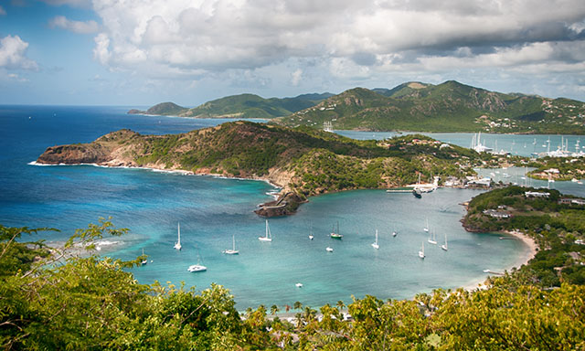 Antigua by Land and Sea