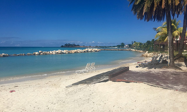 Antigua Beach with Lobster Lunch