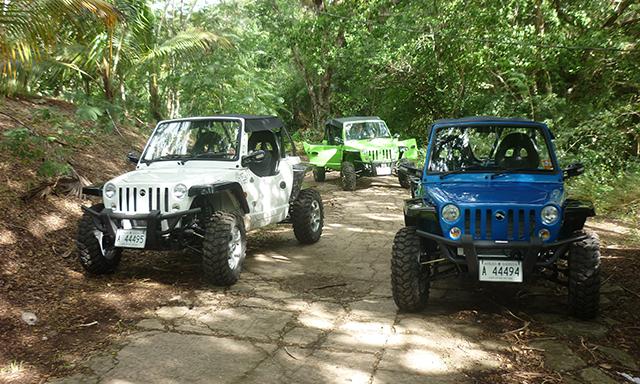 Antigua Buggy Adventure