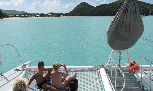 Catamaran Sail, Snorkel and Beach Cruise