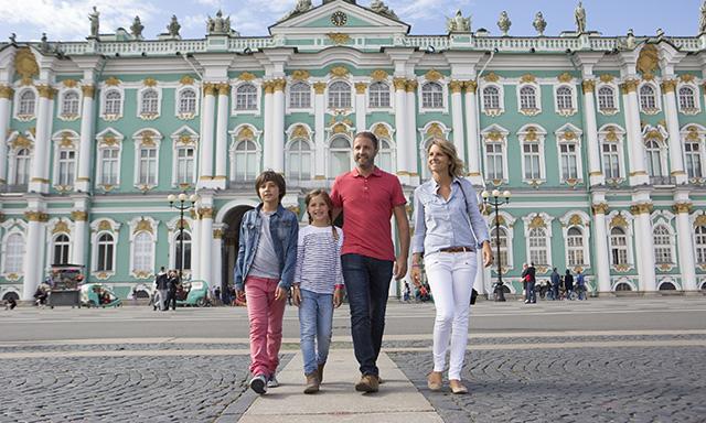 Panoramic St. Petersburg with Hermitage Visit