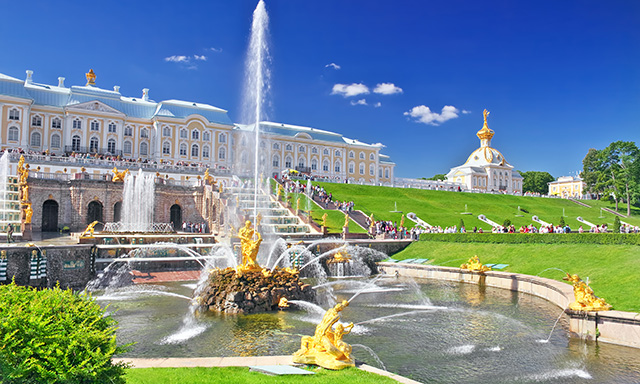 Hermitage and Peterhof