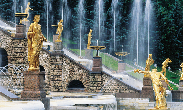 Easy Peterhof Park and Gardens Tour