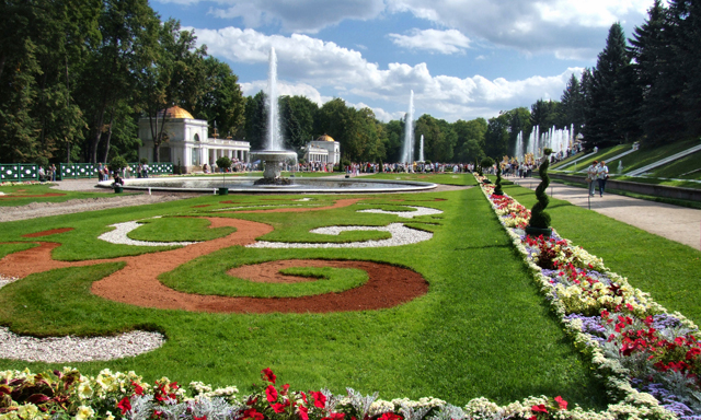 Accessible St. Petersburg: Peterhof Parks and Fountains of Lower Gardens