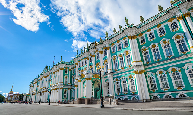 Hermitage Museum and the Private Visit to the Academic Library - Small Group