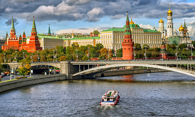 Journey to Moscow by High Speed Train (Shorter Duration)