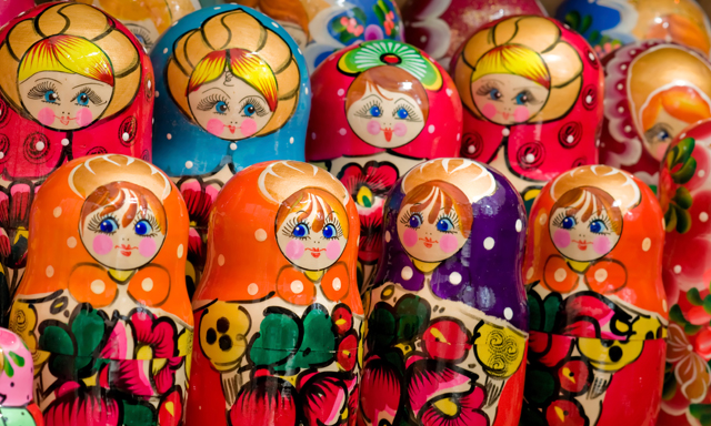 Matryoshka Doll Workshop and Tea Party