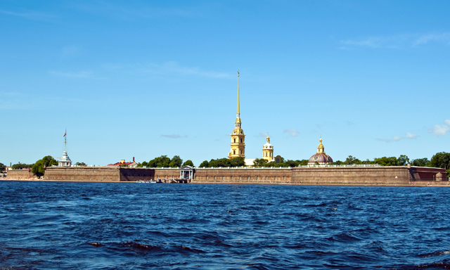 River & Canals of St. Petersburg with Peter & Paul Fortress