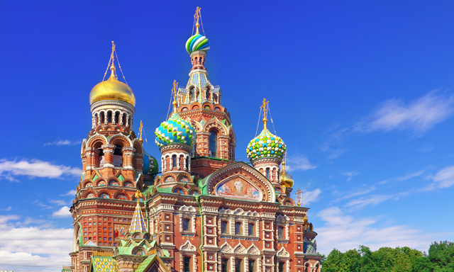 St. Petersburg Highlights Driving Tour