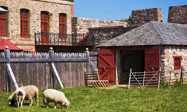 Relive History at the Fortress of Louisbourg