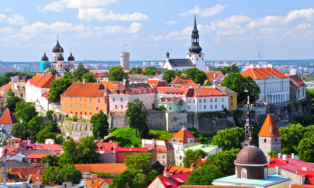 Panoramic Tallinn