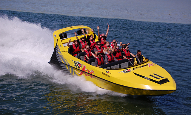 Forest Canyon Jetboat and Hells Gate Experience