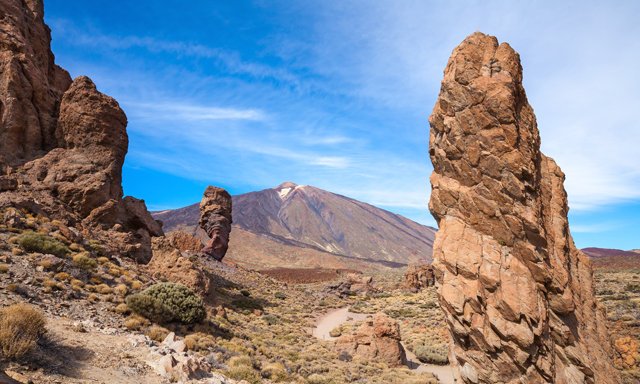 Scenic Drive to Teide National Park