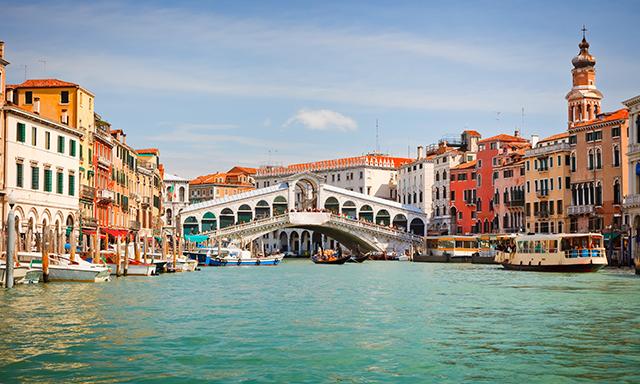 El sabor de Venecia y tiempo libre